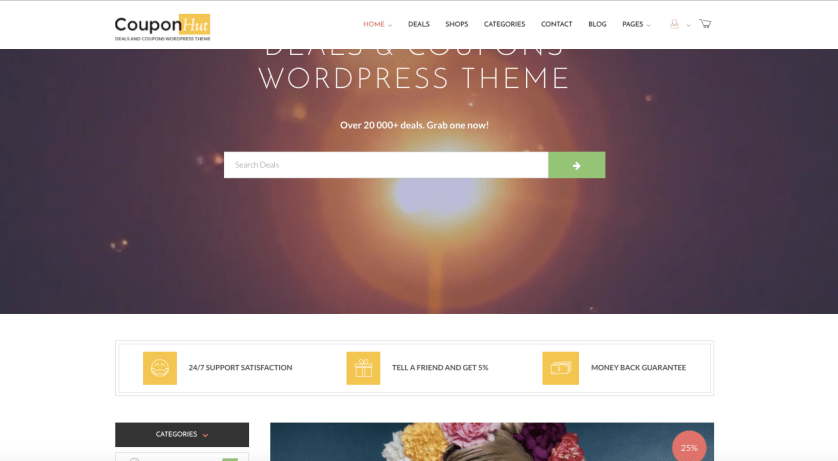 CouponHut Coupon theme WordPress