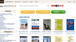 eBookshare Lets you download free eBooks
