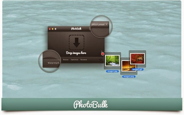 PhotoBulk watermarking app for mac