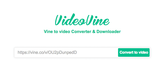 VideoVine Vine video downloader
