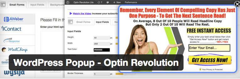 WordPress Popup - Optin Revolution