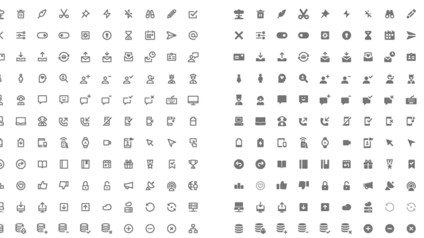 Download 350 Free Material Design Icons