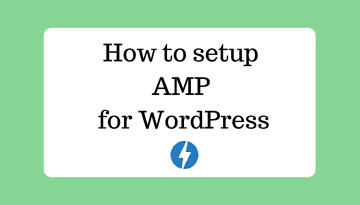 How to setup AMP for WordPress