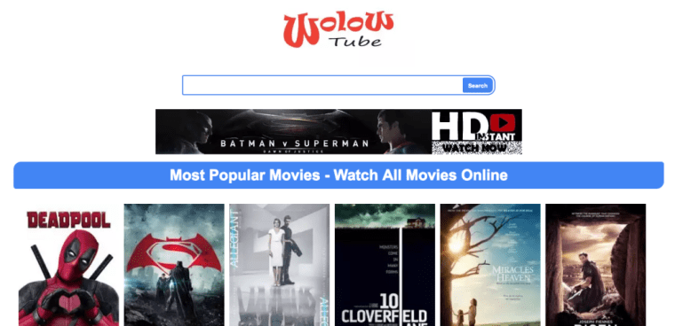 wolowtube | Free Movie Streaming Sites