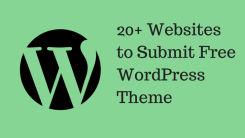 20+ Websites to Submit Free WordPress Theme