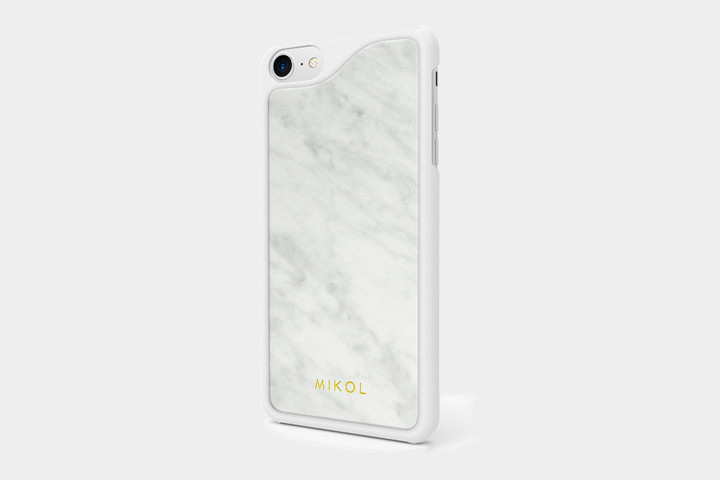 Mikol Carrara White Marble Case ($100)