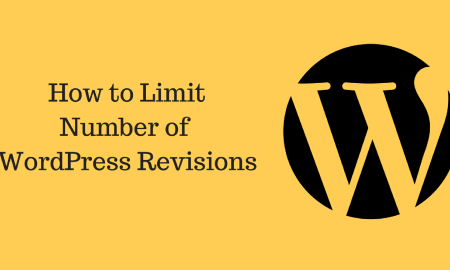 How to Limit Number of WordPress Revisions