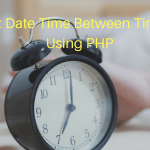 Convert Date Time Between Time Zones Using PHP
