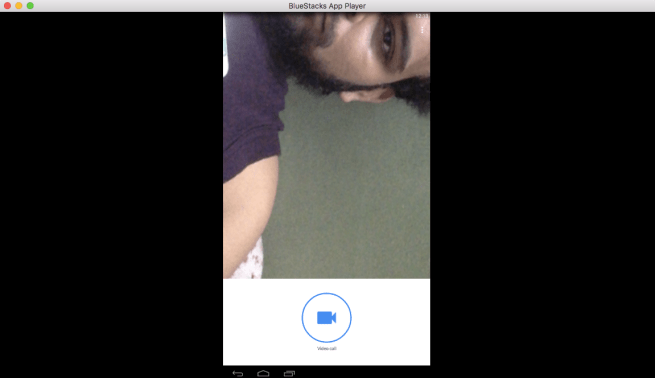 Google Duo on Desktop