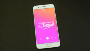 How to Add Text Only Stories on Instagram