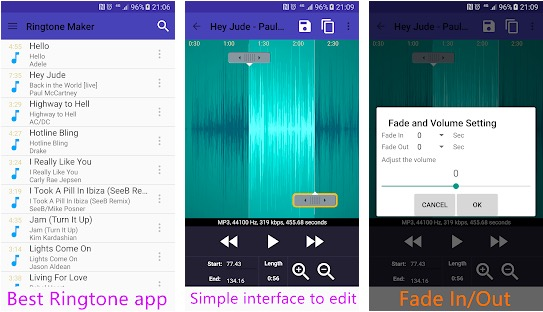 7 Best Ringtone Maker Or Ringtone Cutter Apps For Android