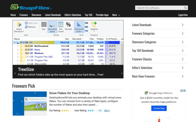 SnapFiles software download
