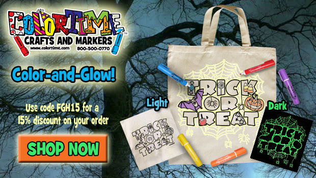 Glow in the Dark Halloween Tote Review