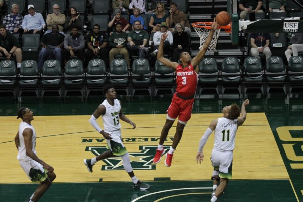 USF men's basketball end win streak at 3, lose big to ...