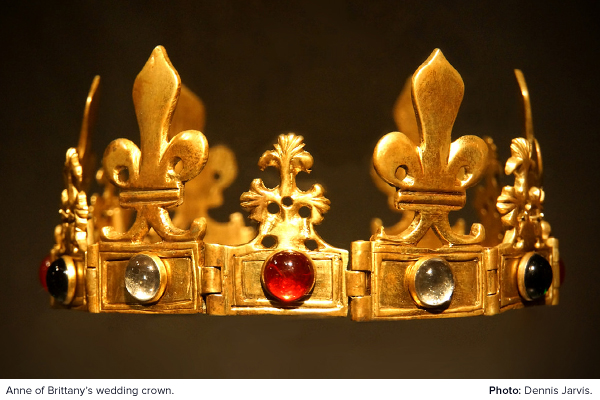 Anne of Brittany's wedding crown
