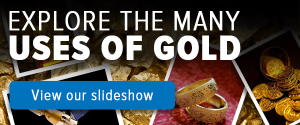 Explore the many uses of gold slideshow