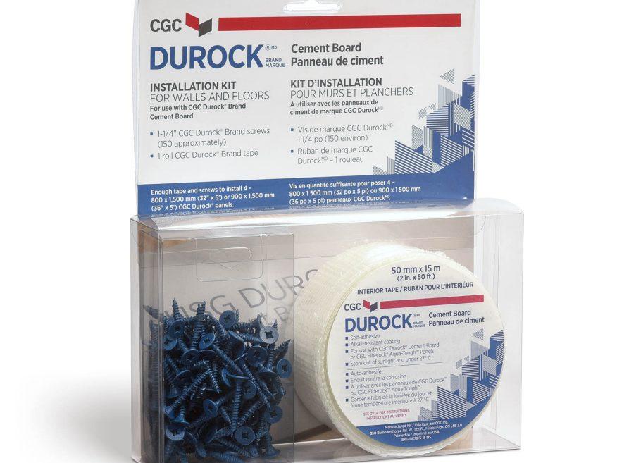 durock brand tile backer screws