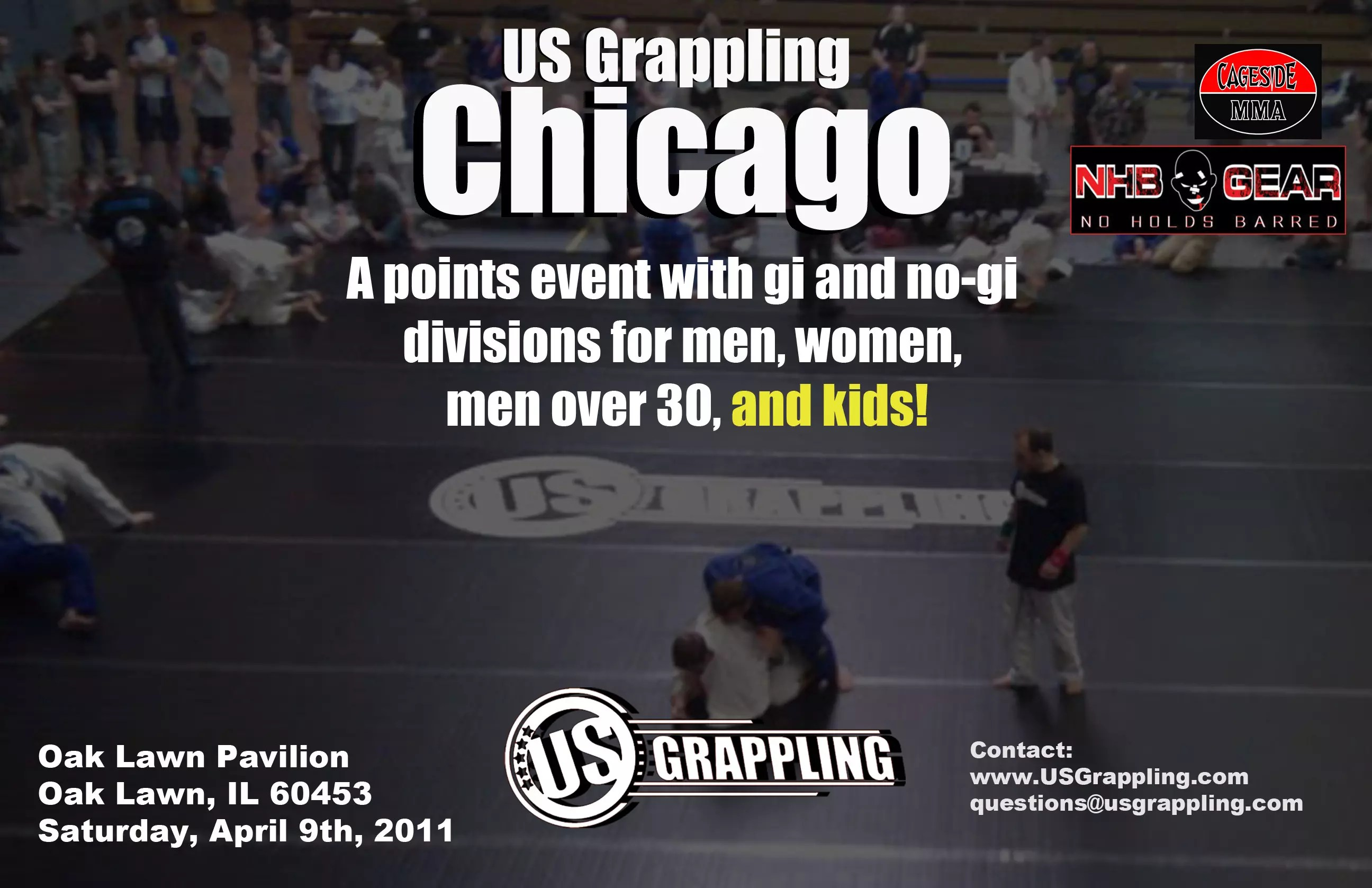 BJJ and Submission Grappling tournament in Chicago