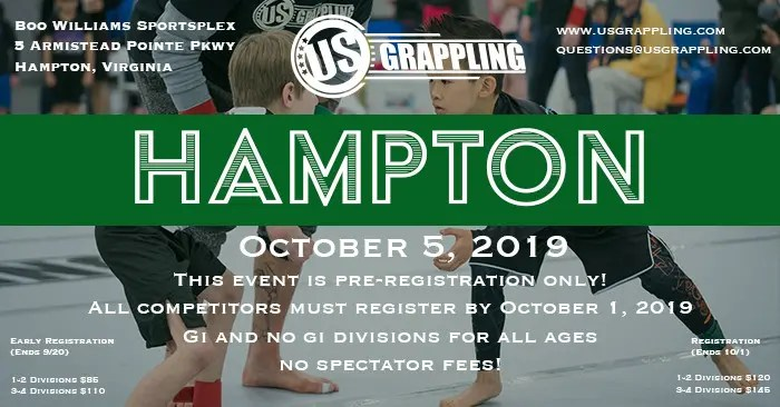 US Grappling Brazilian Jiu Jitsu and Submission Grappling
