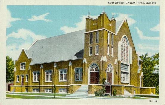 Penny Postcards From Pratt County Kansas