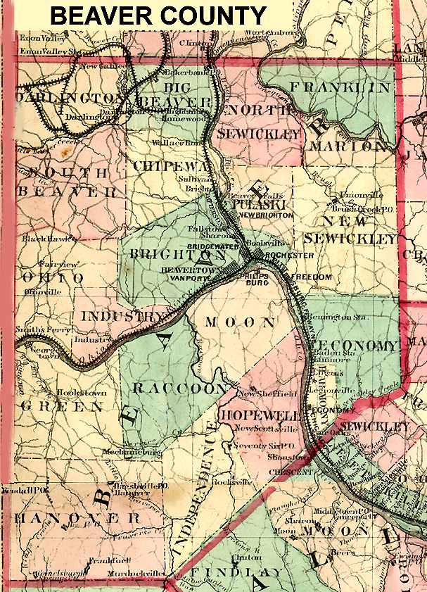 Illinois And Missouri County Map