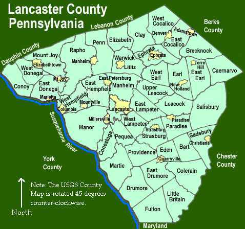 1797 PA MAP Clearfield Johnstown Altoona Nanticoke Pennsylvania History SURNAMES