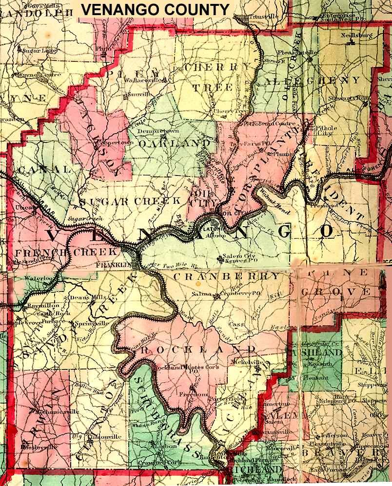 Fulton County New York Map