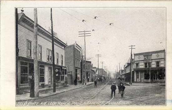 Penny Postcards From Clinton County Pennsylvania