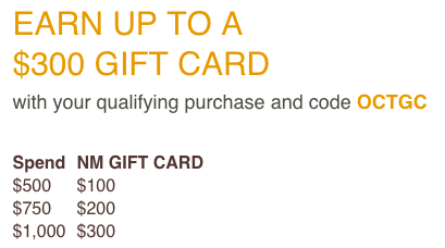 Neiman Marcus: Up to $600 GIFT CARD Holiday Beauty Gifts Purchase ...