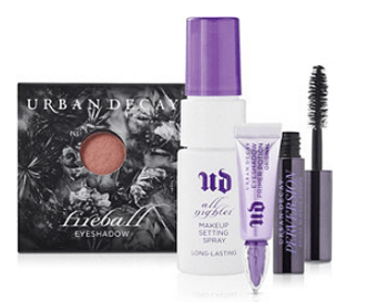 To receive your FREE gift: You must be signed in to your online account and be a Platinum member to get this free gift with any $25 Urban Decay purchase. Add the gift to your basket. A retail of $25 will show in your basket. Continue shopping and when $25 or more in qualifying merchandise is added to your basket your gift will turn to free.