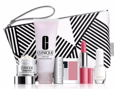 Update 7/2: Saks 10% off - Clinique gift with purchase - 6 pcs ...
