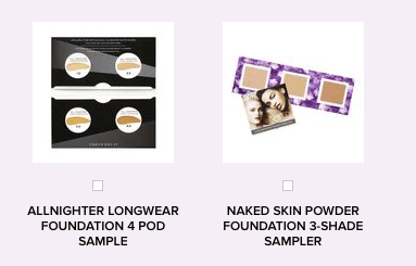 Nordstrom 3 free samples w/any purchase: Urban Decay 'Vice ...