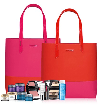 048d05728fc Macy's: Lancome 6 pcs gift w/$35 purchase + 10% off + free shipping - Gift  With Purchase