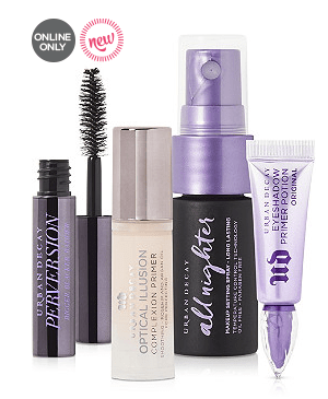 Ulta Beauty Break! Receive a FREE 4 Pc Urban Decay Gift with any $50 online purchase. One per customer. While quantities last.