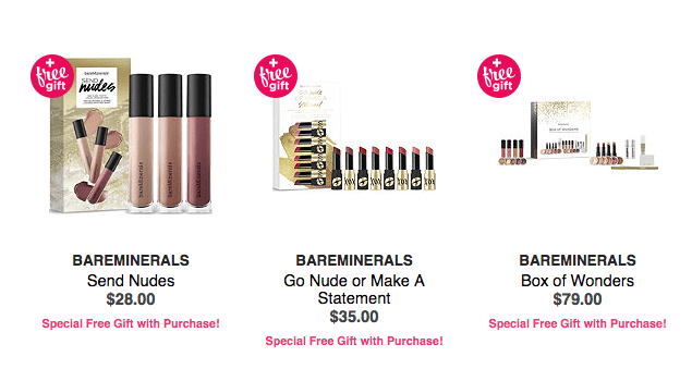 Ulta.com: Free 5 pcs bareMinerals gift with $50 purchase + more ...