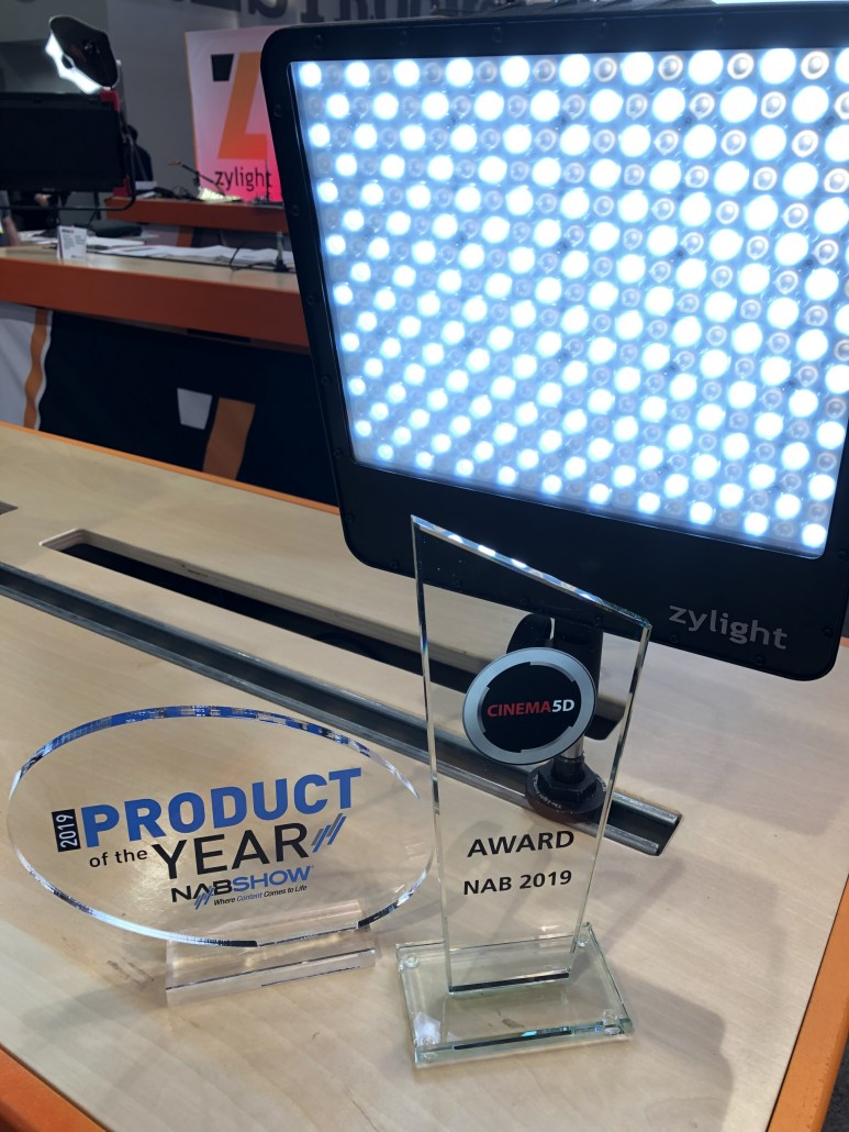 Zylight Product of the Year NAB