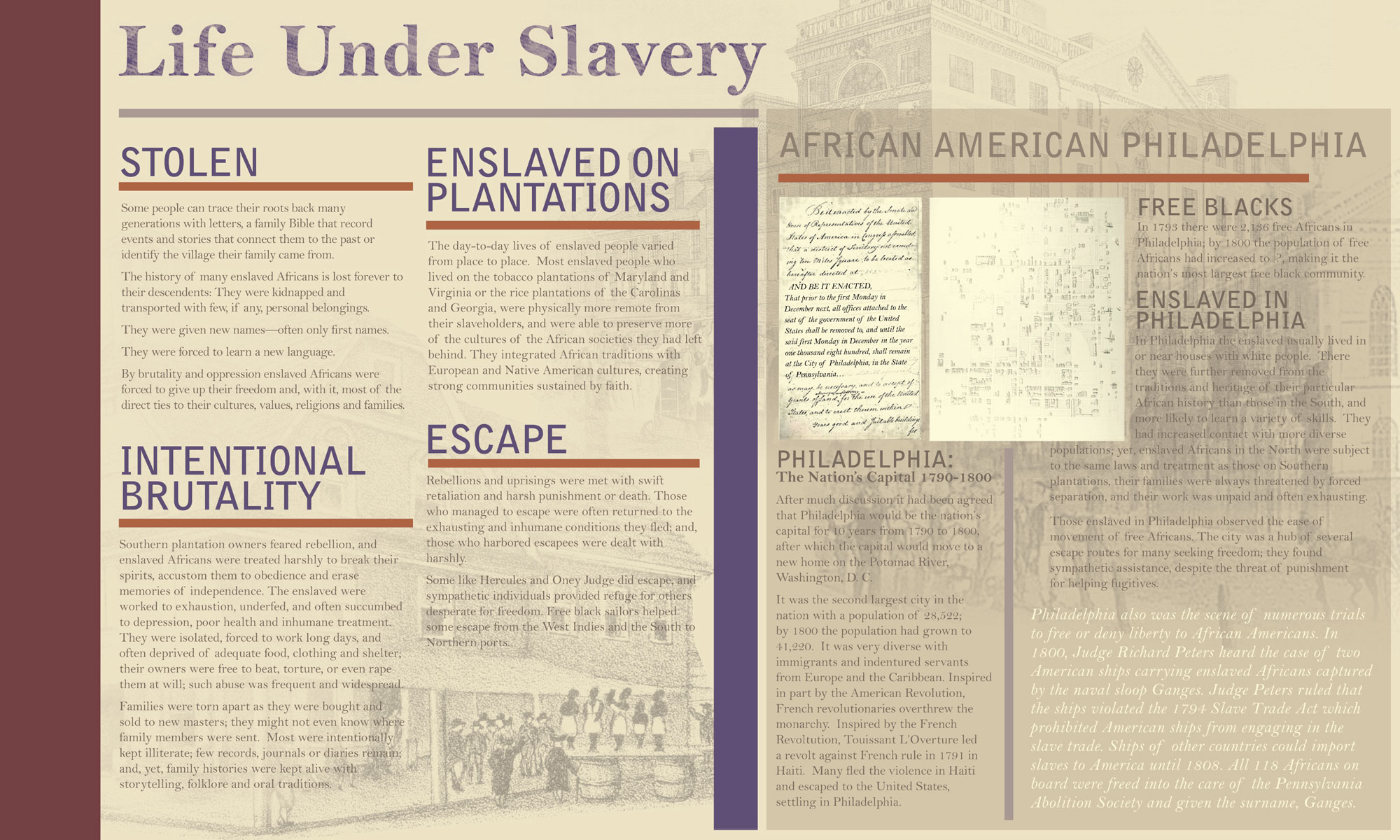 Come On Down To Independence Slavery Mall