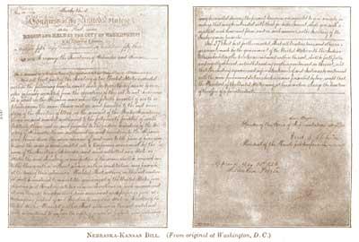Kansas-Nebraska Bill