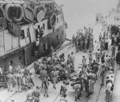 The Exodus 1947 in Haifa