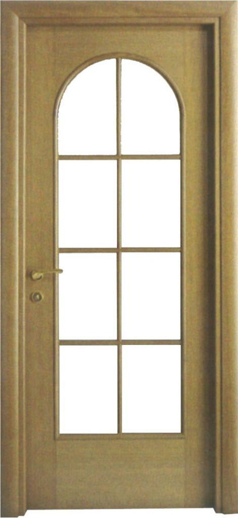 Usa de interior din lemn cu geam model A66