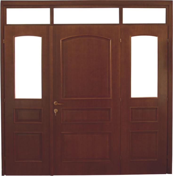 Usa de interior din lemn cu luminator model A72-3K