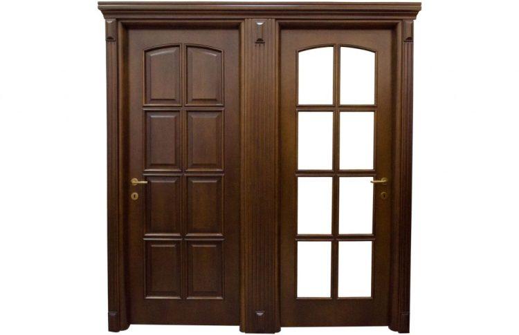 Usa de interior din lemn model ASP1-R