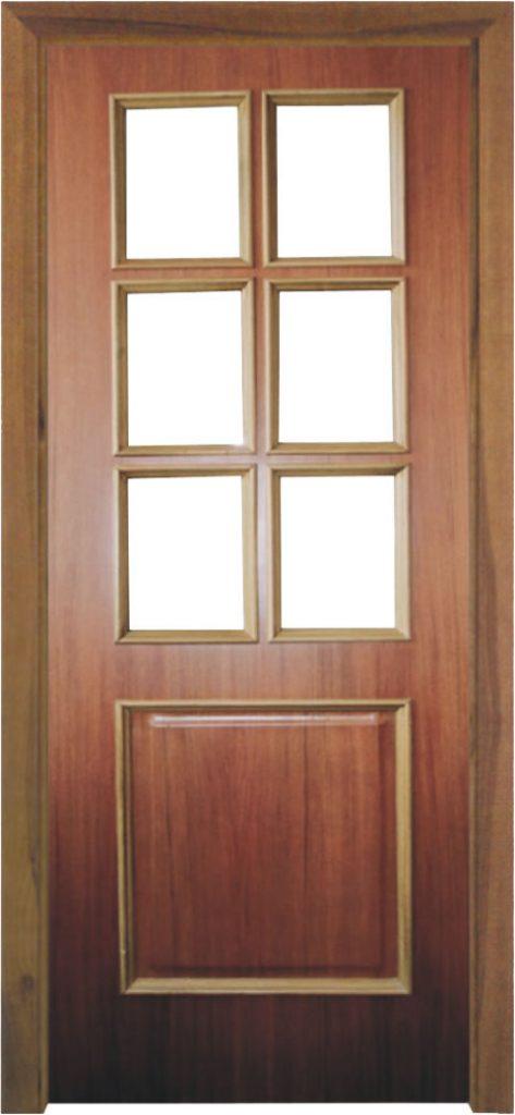 Usa de interior din lemn cu geam model ASP3