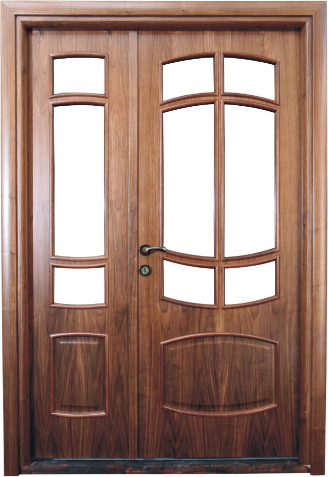 Usa de interior din lemn cu geam model ASP68