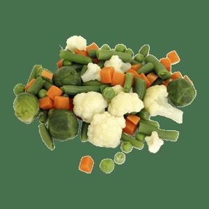 Овощи свежемороженные