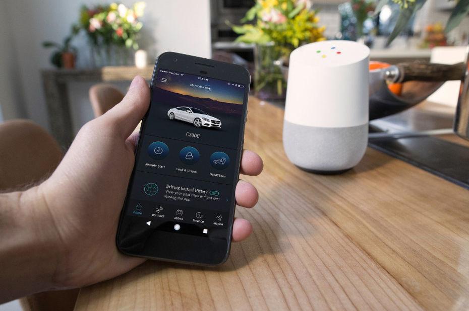Mercedes rend ses véhicules compatibles avec Amazon Alexa et Google Home
