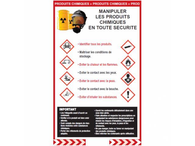 Affichage De Securit Produits Chimiques Contact PRO