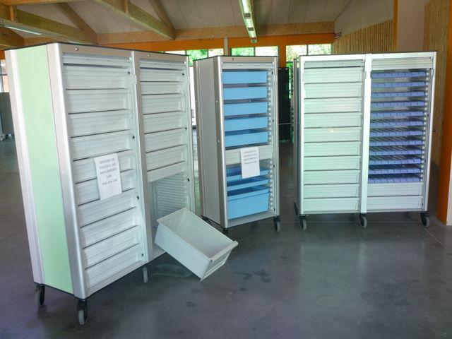 Armoire Mobile Modulaire Pour Laboratoire Salle Blanche
