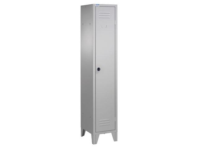 casier vestiaire industrie propre 1 porte coloris gris de la marque setam