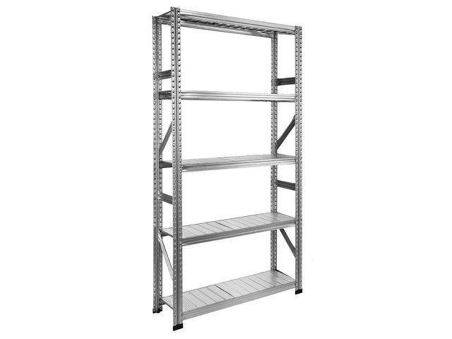 etagere metal galvanise 5 niveaux l105 x p60 cm de la marque setam